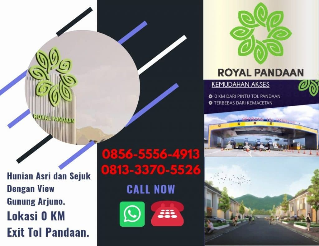 Rumah Dijual Area Pandaan Royal Pandaan