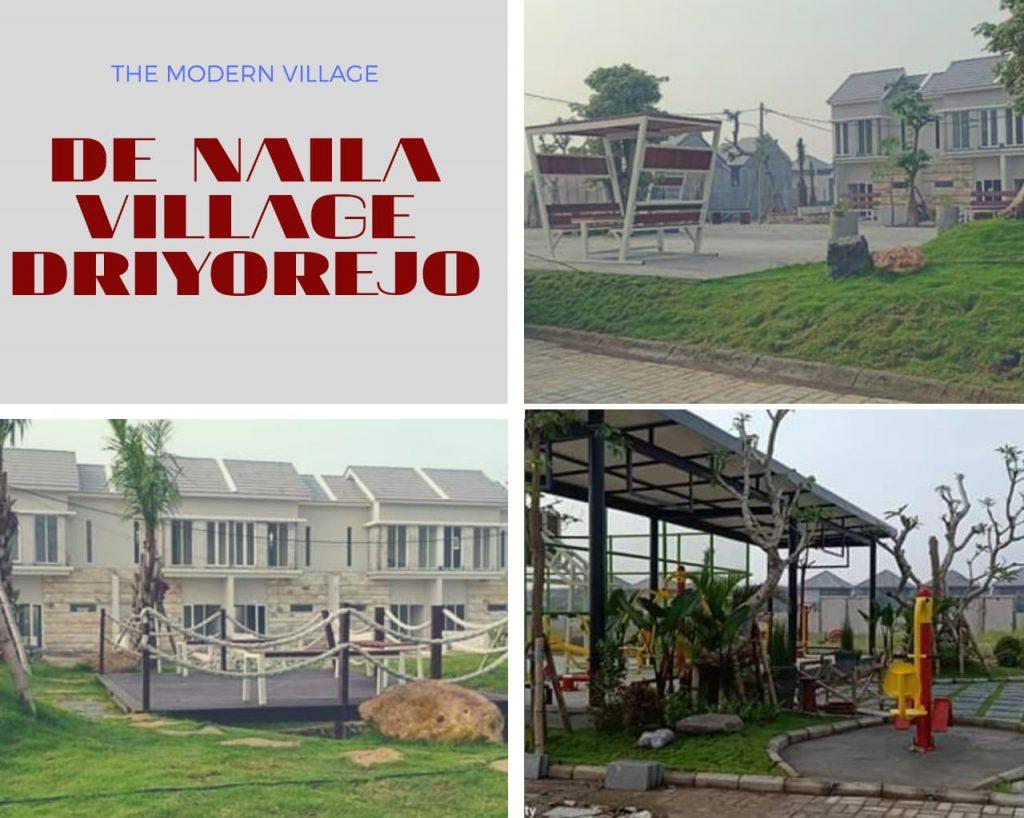 Rumah Ready Stock De Naila Driyorejo