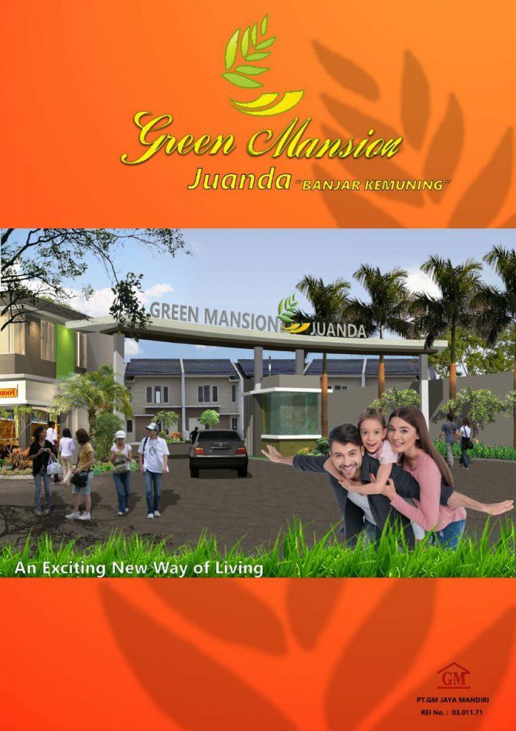 Promo Rumah Green Mansion Juanda