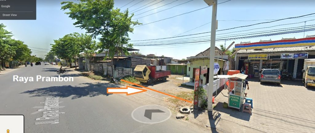 Jual Cepat Tanah Nol Jalan Raya Prambon, Call / WA 0857-4577-1688