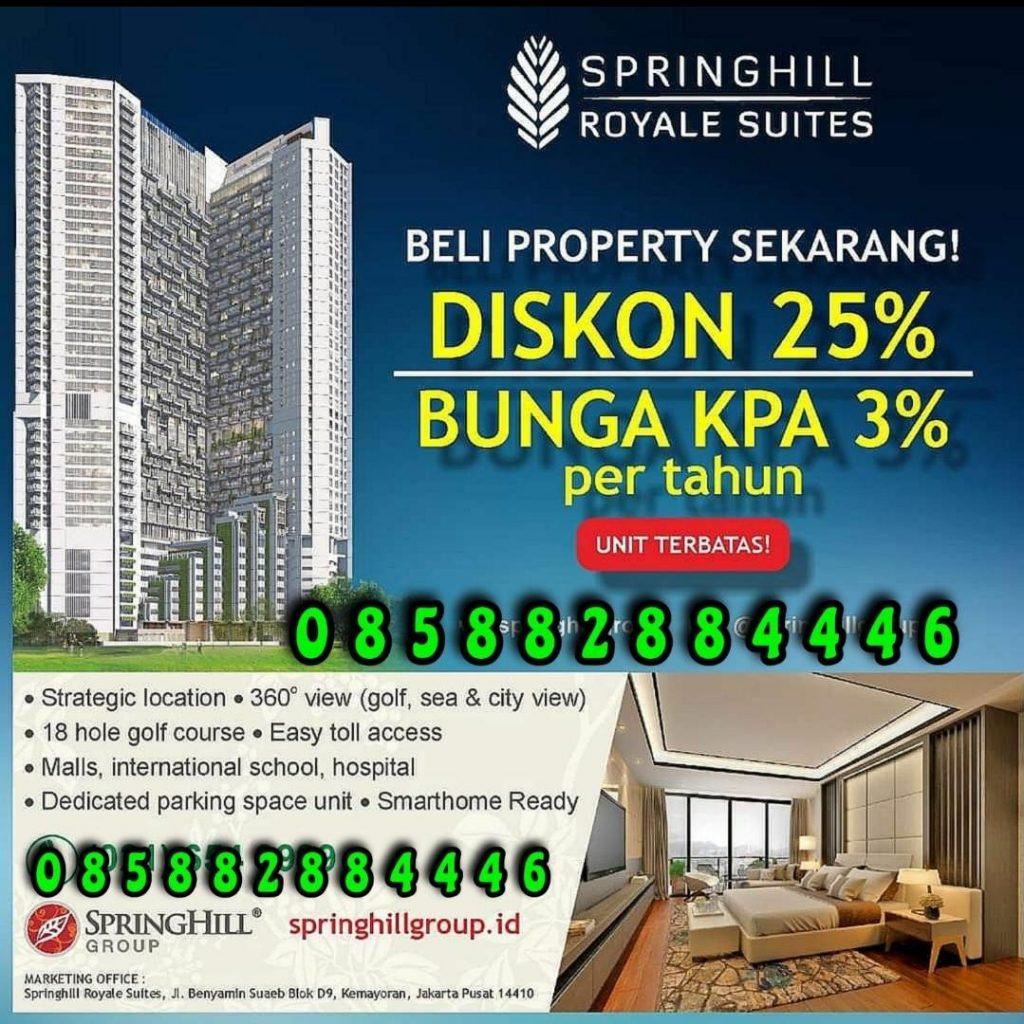Apartemen Super Mewah READY STOCK TERJANGKAU di Jakarta