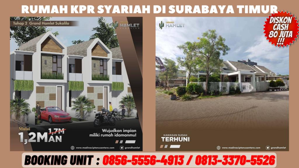 Rumah KPR Syariah Surabaya